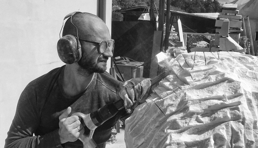 Michal Jackowski at work